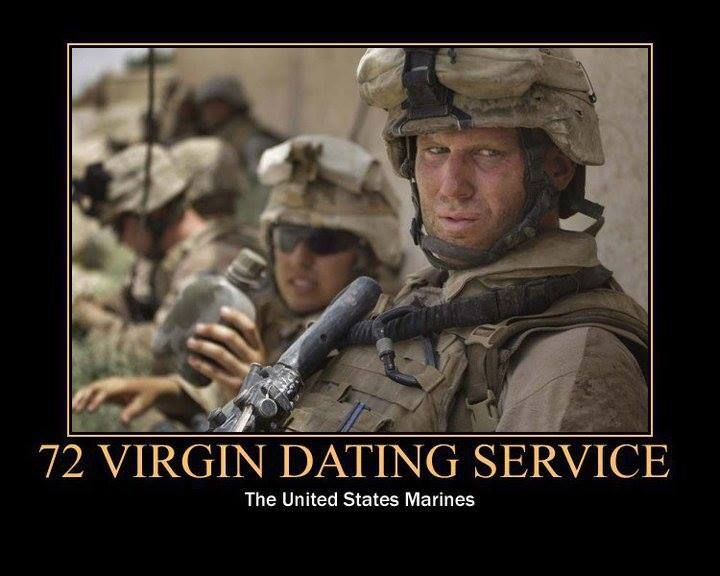 Online dating services military men
