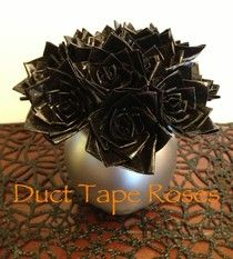 Homemade Mamas: Duct Tape Roses!
