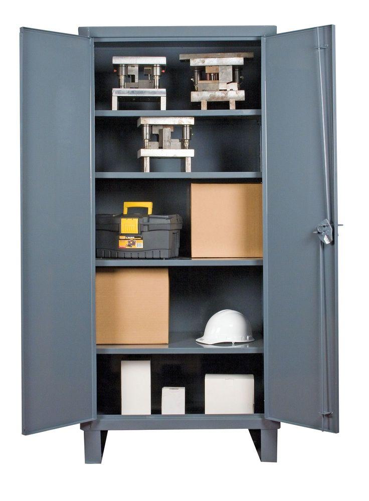 Recessed Door Style Lockable Storage Cabinet