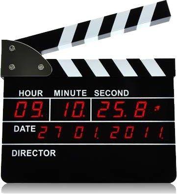 Led Klaket Film Çekim  Özel Masa Saati  Ürün Bilgisi ;  Kolay kurulum Led, masa saati Klaket hareketiyle kapanan alarm özelliği 10 dakika alarm süresi 24 saat, dakika, saniye gösterimli saat fonksiyonu Gün, ay, yıl gösterimli takvim fonksiyonu DC 9V ile çalışma özelliği (Adaptör pakete dahildir) Bir Yıl Üretici Firma Garantilidir.  Ürün Boyutu ;  10,2 cm x 8,6 cm x 2 cm