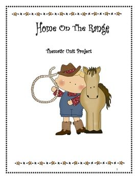 This is a thematic unit that I love doing with my students.  I am a Texan living in Iowa now and I miss the cowboy life of Texas.  This unit includ...