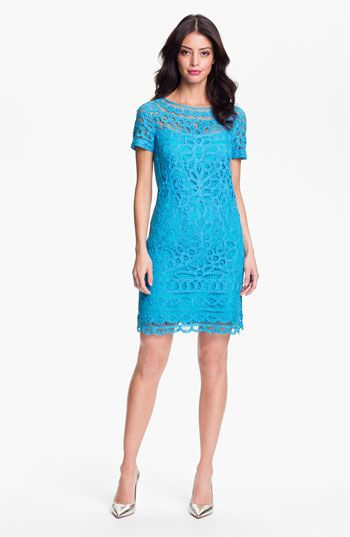 Lilly Pulitzer® 'Marie Kate' Lace Cotton Dress available at Nordstrom