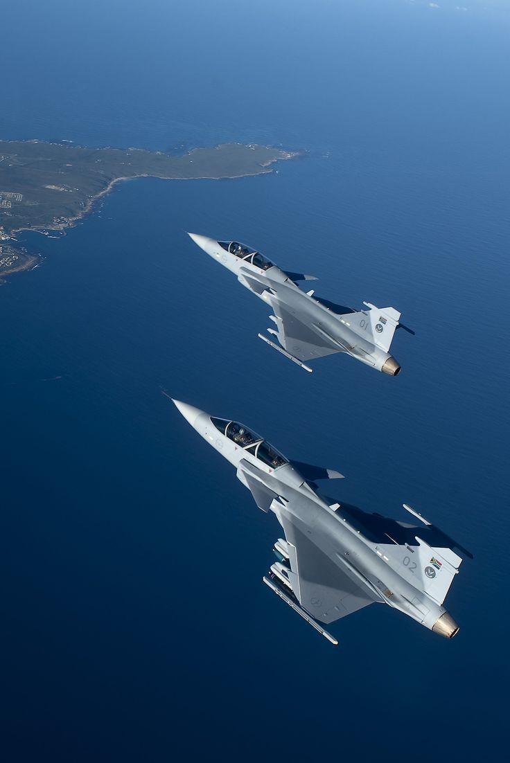 ☆ South African Air Force ✈ Saab JAS-39 D Gripens ☆