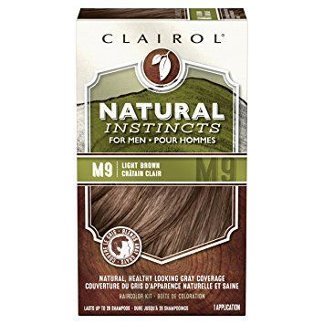 Clairol Natural Instincts Hair Color For Men M9 Light Brown 1 Kit (Pack of 3) – PACKAGING MAY VARY Review