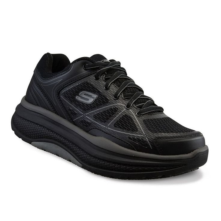 Skechers Work Relaxed Fit Cheriton Women's Slip-Resistant Shoes, Size: 7.5, Black