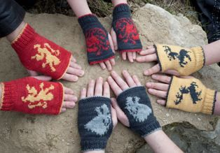 Fingerless Mitts and Gloves Knitting Patterns | In the Loop Knitting