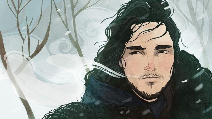 Jon+Snow+by+LauraTolton.deviantart.com+on+@DeviantArt