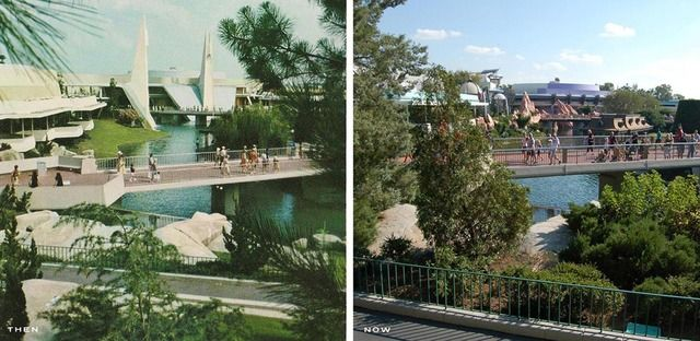 THEN AND NOW: MK Tomorrowland [Part1] - Imagineering Disney -
