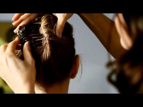 Colette Malouf - The Strong Hold French Twist - YouTube