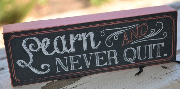 Learn & Never Quit – Solitude & Soul