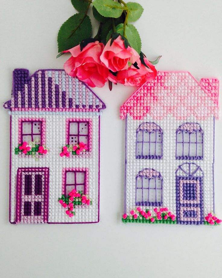 Cross stitch house