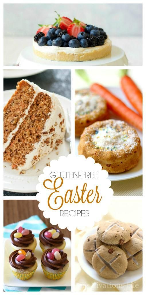 These gluten-free Easter recipes are all festive, flavorful and perfect for your next Spring Easter gathering. | gluten-free easter desserts | gluten-free easter dinner | gluten-free easter meal || This Vivacious Life #glutenfreeeaster #easterdessert #easterdinner