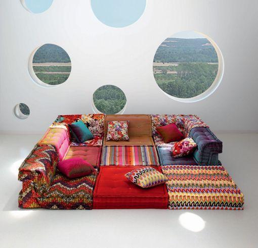 I'm going to make this in miniature -  Mah Jong modular sofa