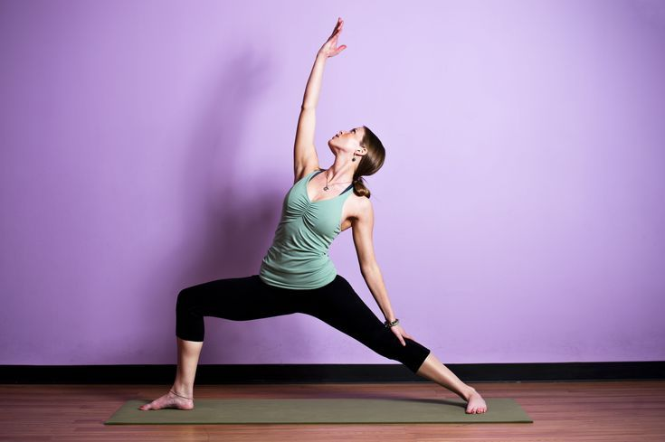 Get Fierce With This Sequence for Home Practice: Reverse Warrior