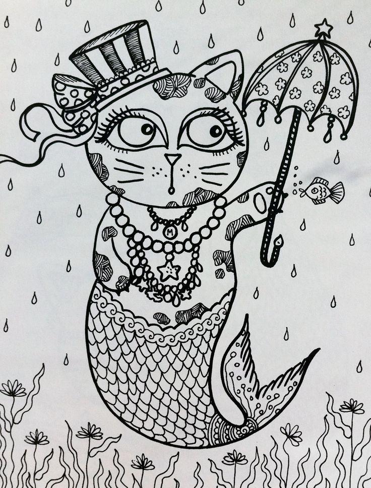 82 mejores imágenes de Gatos en Pinterest | Gatitos, Dibujos de ...