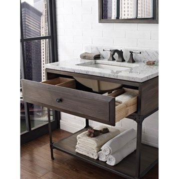 Best Bathroom Vanities Images On Pinterest Bathroom Vanities - Bathroom vanities with shelves