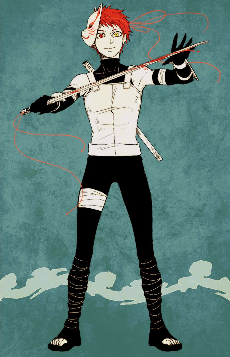 ANBU Akashi << i was expecting him to have a giant pair of sissors ^*^