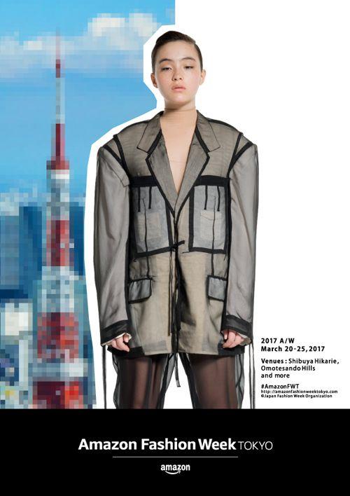 AmazonFWT 2017A/Wで開催される「Chika Kisada」「AKIKOAOKI」「KEISUKEYOSHIDA」「MURRAL」「YOHEI OHNO」のファッションショーのチケット&オフィシャルバッグをプレゼント!  http://soen.tokyo/fashion/news/afwt170310.html