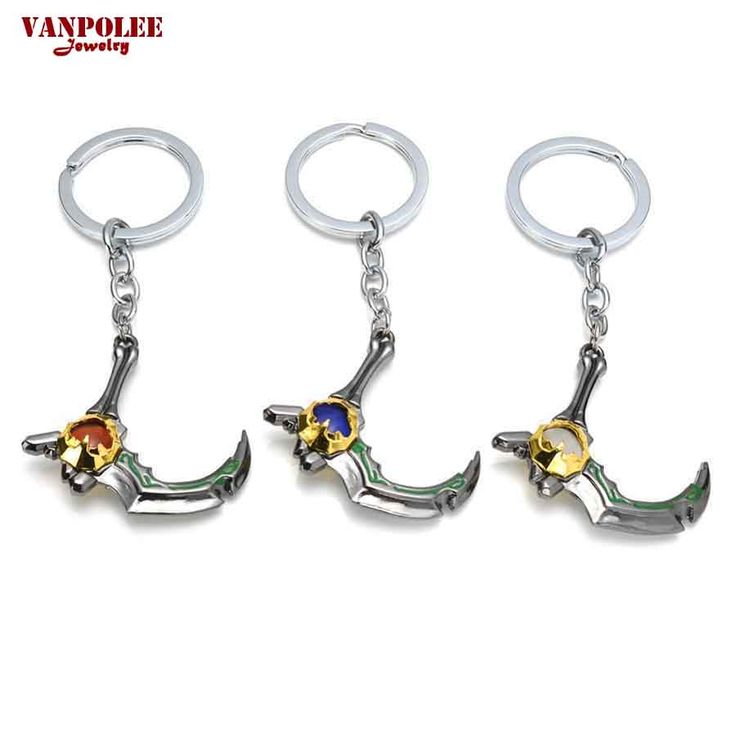 2016 New Styles Dota 2 Sijia Di Barbs Pendants Vintage Keychain Dota2 Key Chain Figure Toy Jewelry Accessories Gift Keyring