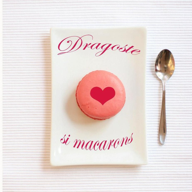 Dragoste şi macarons.