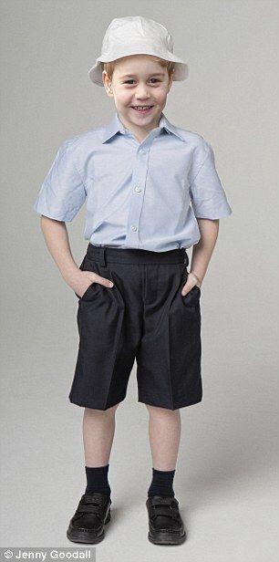 Summer wear -Summer hat: £6 Six shortsleeved light blue shirts: £66 Six pairs of navy ankle socks: £15