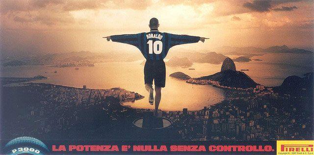 Pub 1997 - Ronaldo & Pirelli - Bresil