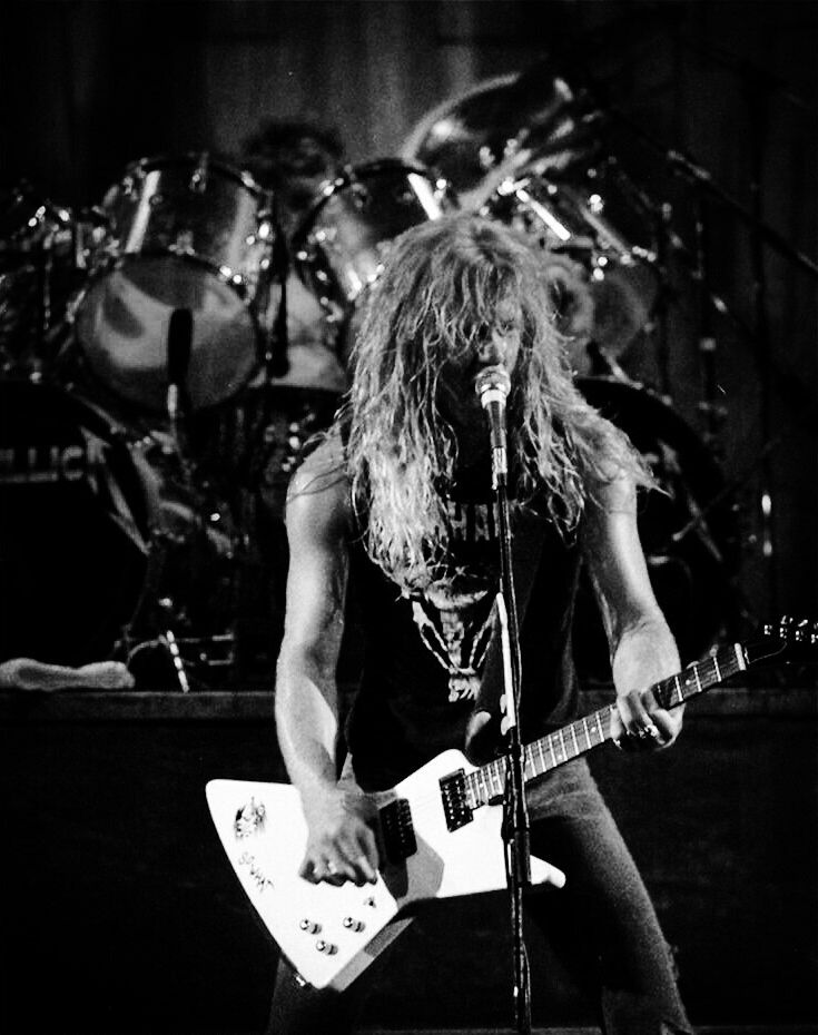 ~James Hetfield and Lar Ulrich 1986~