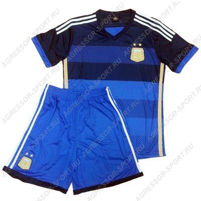 Сборная Аргентины представила новую форму на Кубок Америки - 2015