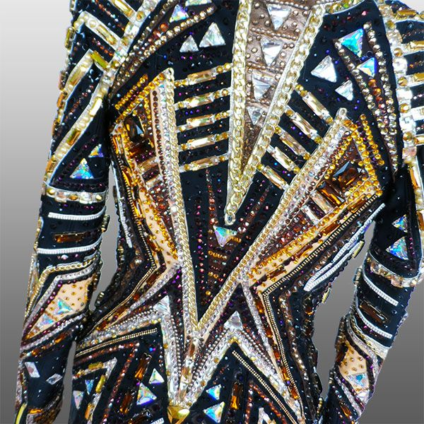 Snow on the Sahara  Rail and Showmanship jacket, custom made for Lisa T Jones.  For info contact Lisa T Jones ltjones96@comcast.net
