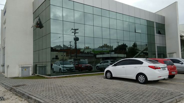 fachada  Obra Sidimetal Curitiba