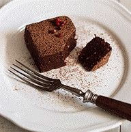 Brownies de chocolate crus