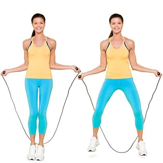 Total Body Jump Rope Workout: Awesome! I've been looking for a work out to do with my jump rope!