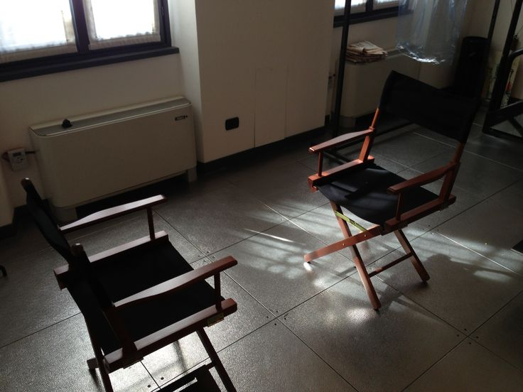 Or I Could Just Be Really Simple And Find A Blank Room Two Chair