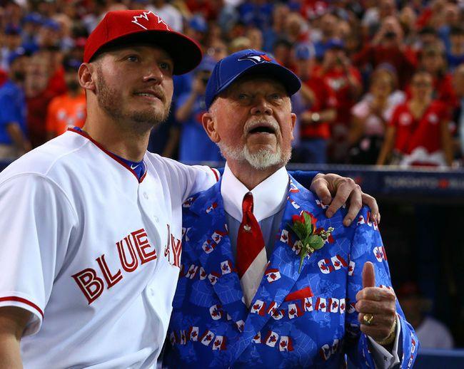 Josh Donaldson and Don Cherry - Canada Day 2015