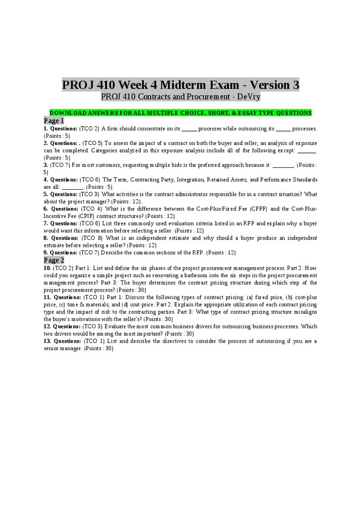 exam essay questions on marketing