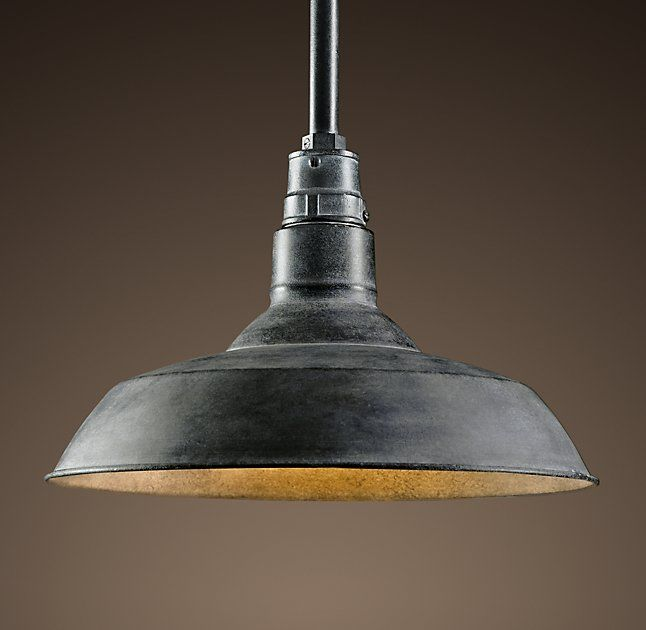 Vintage Barn Pendant - Kitchen Island