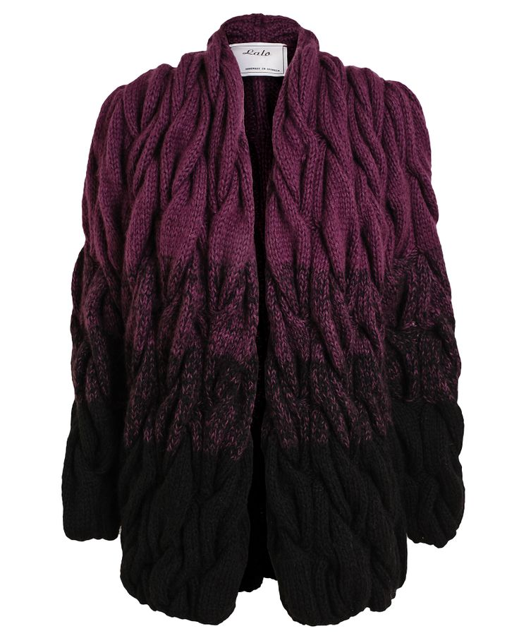 LALO   Hand-knitted Wool and Mohair Cardigan   Browns fashion & designer clothes & clothing