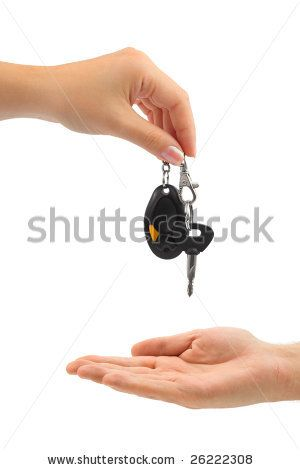 Get your keys and you are ready to go!