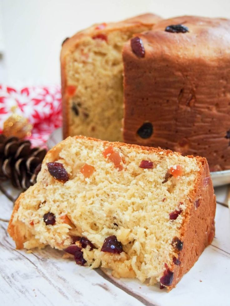 Panettone is a slightly sweet Italian bread, studded with fruit, that's common over the Holiday season both for gifting and serving guests. But really, it's so delicious you'll want to find any excuse.