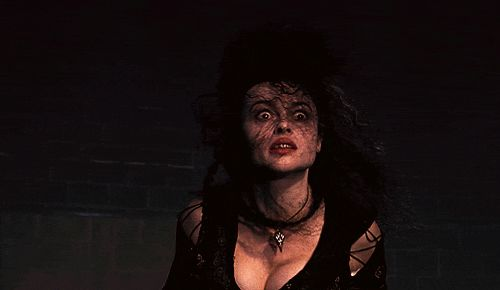 Bellatrix -- because bats**t crazy is the best kind of crazy.