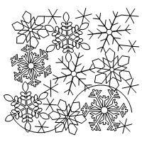 Shop   Category: Christmas / Winter   Product: Snowflake simple e2e
