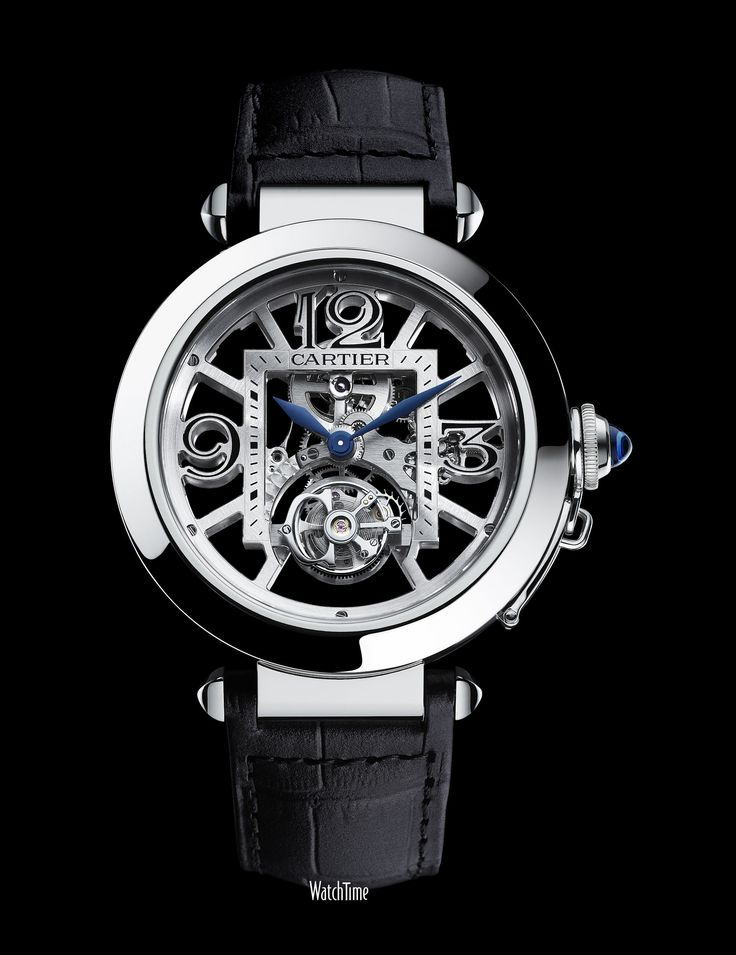 Pasha de Cartier Skeleton Flying Tourbillion