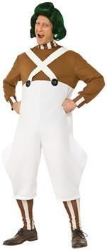 PartyBell.com - Willy Wonka & the Chocolate Factory: Oompa Loompa Deluxe Adult Costume