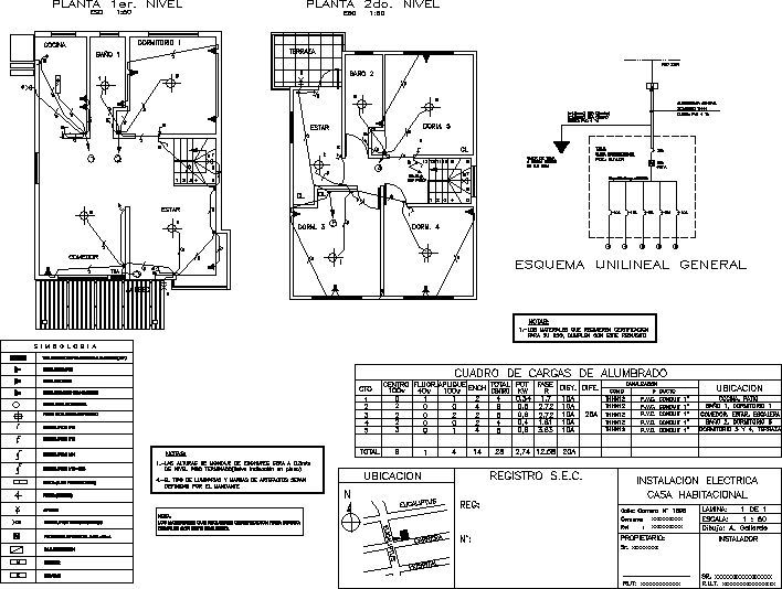 Resultado De Imagen Para Plano De Electricidad Plano Electrico Plano Instalacion Electrica Planos