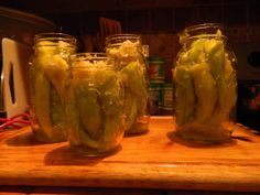 Cabbage Stuffed Hot Banana Peppers - Canning                                                                                                                                                      More