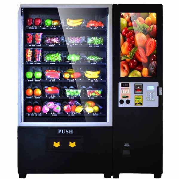 Touch Screen Automatic Fruit Vending Machine Vending Machine