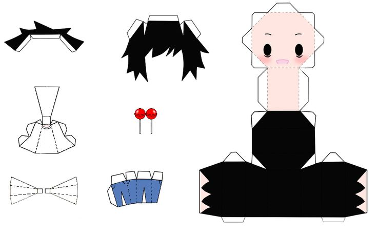this is a papercraft from L from death note. i hope you ...