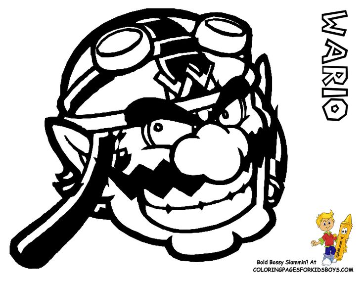 9 best Amazing Super Mario Coloring Pages images on Pinterest ...