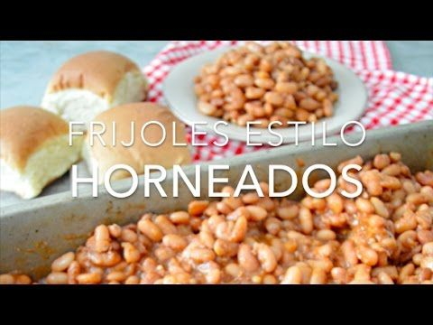Frijoles estilo horneados o estilo baked beans (fáciles y sin horno) www.pizcadesabor.com