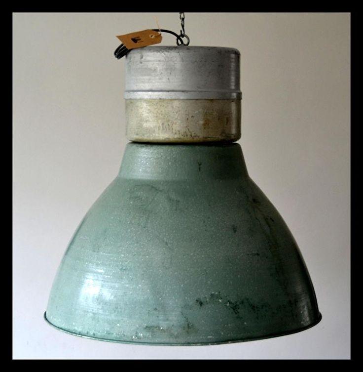 Industriële lamp, megagrote fabriekslamp. zeer stoere lamp! (meerdere…